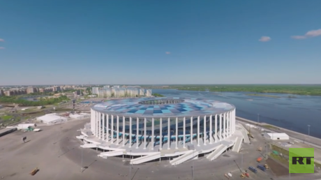 2018 FIFA World Cup: Nizhny Novgorod Stadium (360 VIDEO)