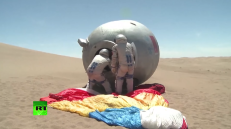 Desert odyssey: Chinese astronauts complete survival training (VIDEO)