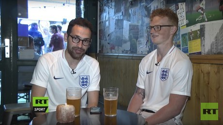'We're worried about flat tyres not football hooligans': England fans cycle to Russia 2018 (VIDEO)