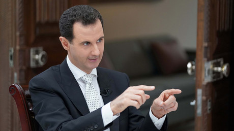No answer to 'Animal Assad': Syrian leader tells RT he does not have insulting nickname for Trump