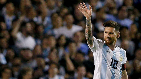 Messi bags hat-trick to fire ominous warning to World Cup rivals