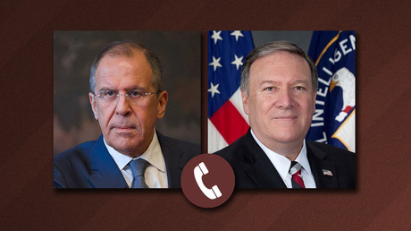 'Improved relations' with Russia subject of first Pompeo-Lavrov call