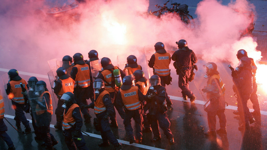 Fake news 'Ramadan riot' blamed on Birmingham Muslims, actually Swiss football hooligans
