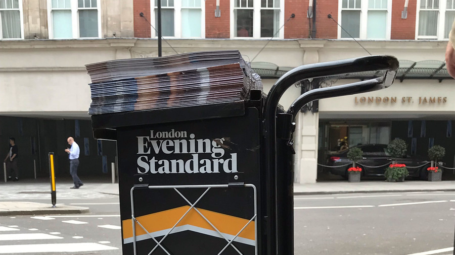 Osborne's Evening Standard guilty of 'disastrous' mixing of news and ads – Peter Oborne (VIDEO)