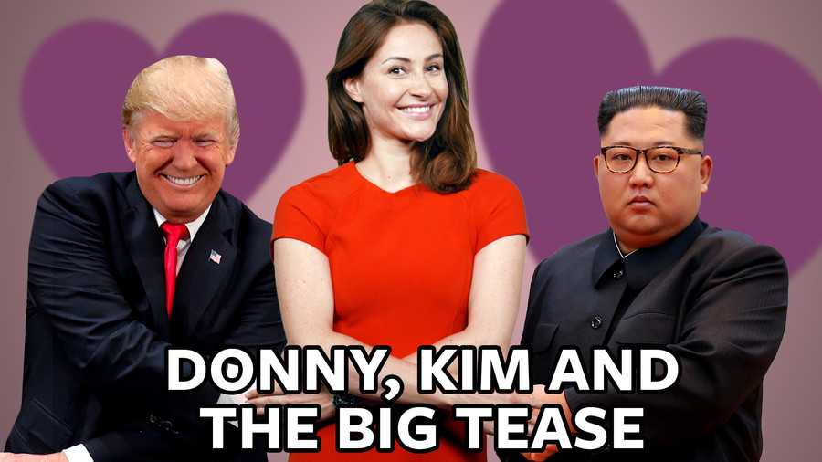 #ICYMI: Trump and Kim keep the world asking, 'will these two crazy kids ever get together?' (VIDEO)