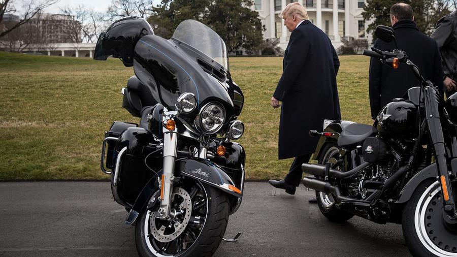 Tariffs on Harleys, bourbon & blue jeans – how Europe plans to retaliate against Trump