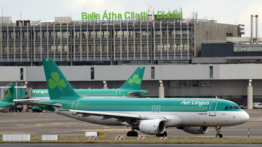 Chaos at Dublin airport as sound system gets 'stuck on evacuation mode' (VIDEO)