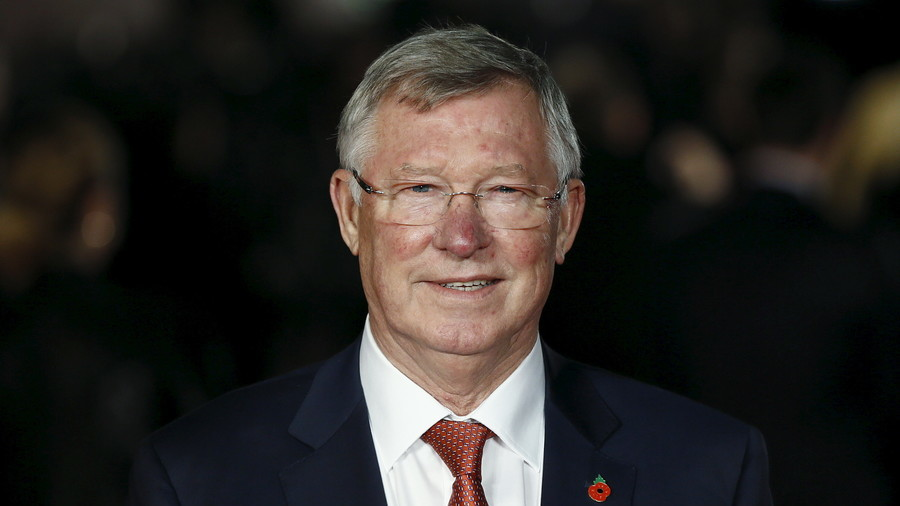 Sir Alex Ferguson leaves hospital after brain haemorrhage