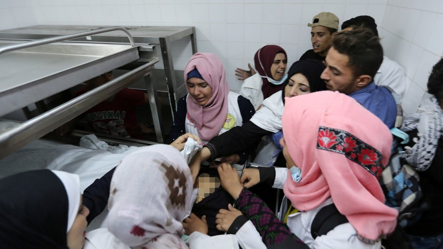 'Deliberate war crime': Palestinians decry murder of 21yo female paramedic at Gaza border