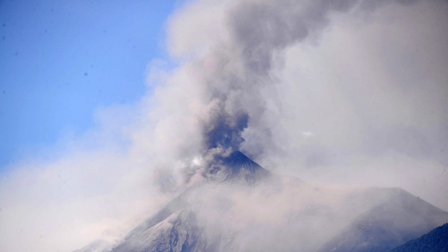 Six dead as 'Volcano of Fire' erupts in Guatemala