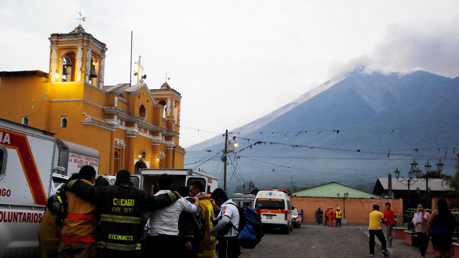 25 killed, dozens injured & missing after Guatemala's Volcano of Fire shoots ash 10km into air