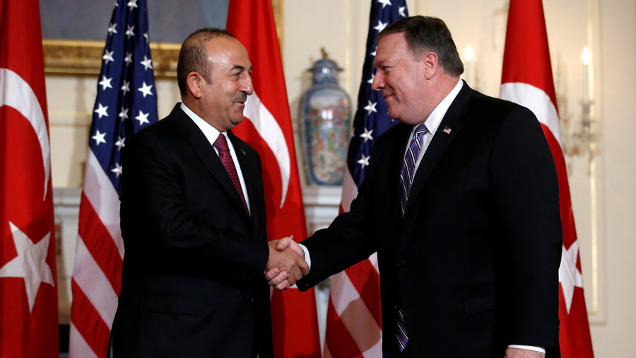 Bickering NATO buddies: Turkish FM meets with Pompeo amid strained US-Turkey ties