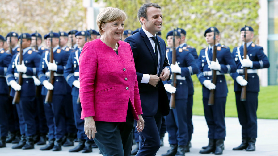 EU army looms? Merkel backs Macron's European Defense Force initiative