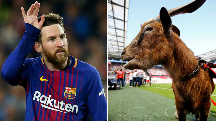 Messi poses with goats for bizarre pre-World Cup photoshoot