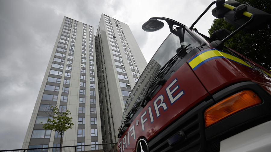 Man saved from burning apartment block in heart of London's Mayfair