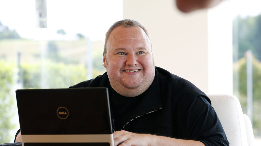 Kim Dotcom asks Snowden, Assange to help create secure social media platform