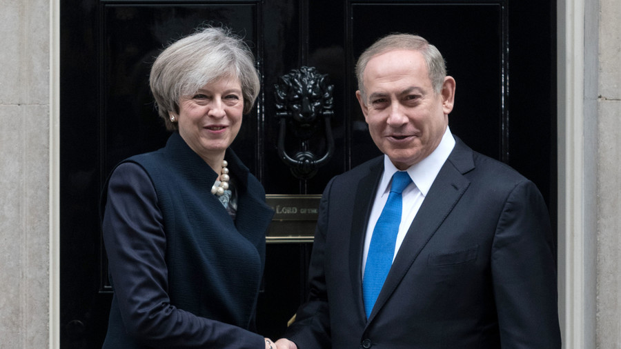 Netanyahu and May 'partners in crime' over Gaza's 'rivers of blood' Palestinian activist tells RT