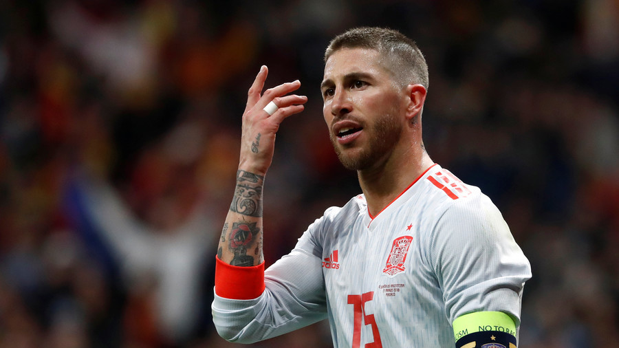 Real's Ramos denies blame for Salah injury