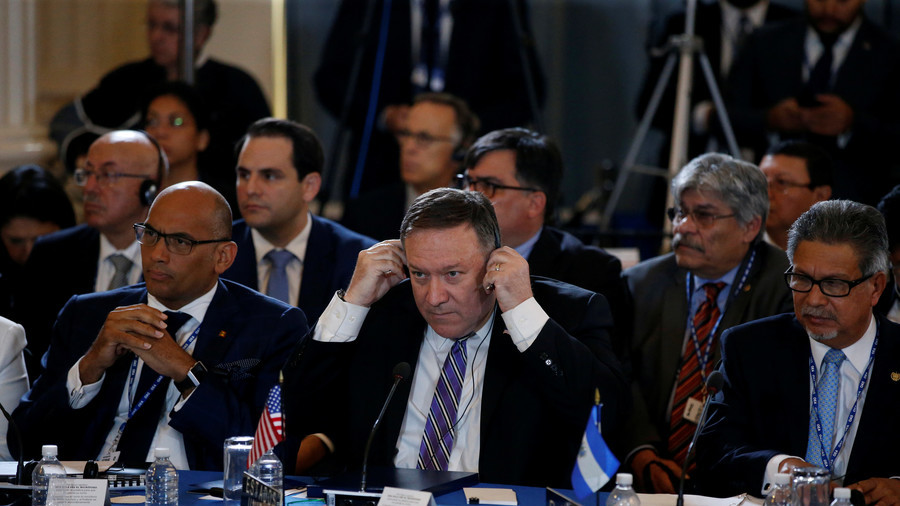 United States  renews call for OAS to eject Venezuela