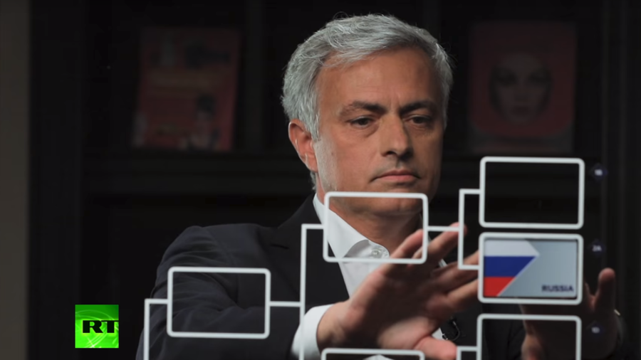 'Come on England!' Jose Mourinho makes shock selections in RT's exclusive World Cup predictor