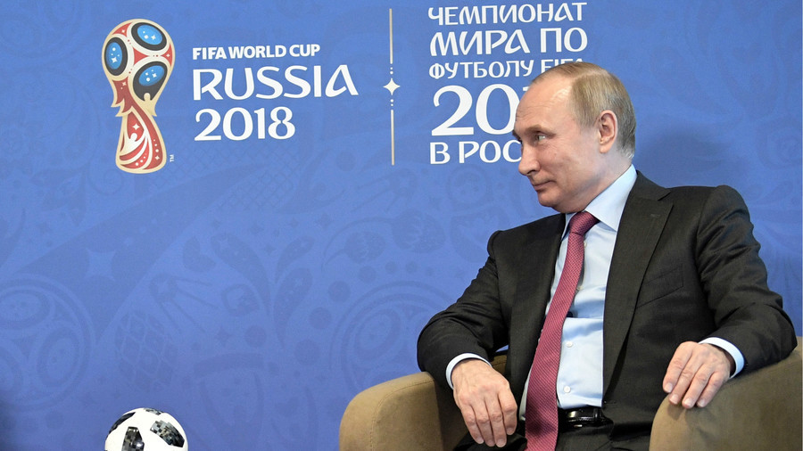 'Argentina & Brazil are contenders, Spain & Germany have chance'- Putin names Russia 2018 favourites