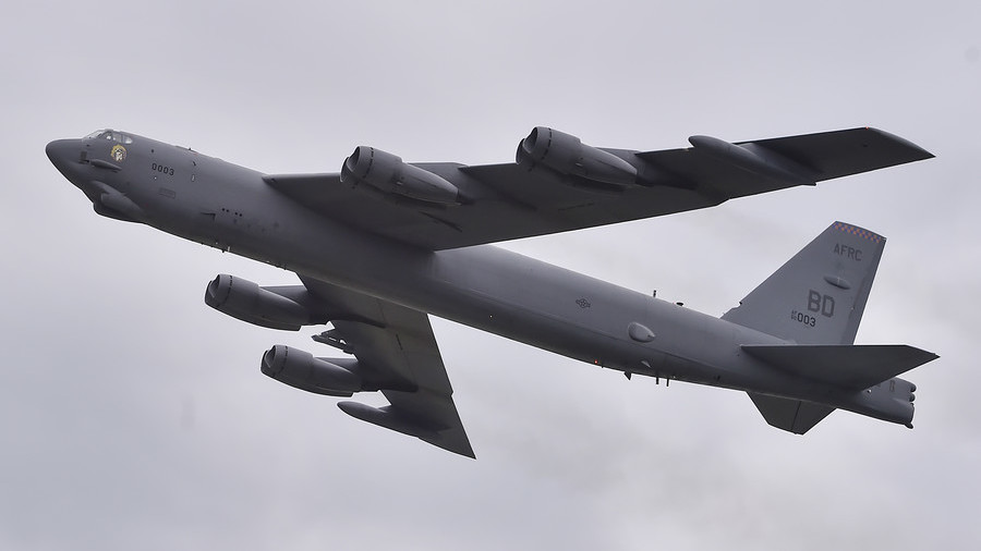 'Here to stay'? US B-52 bombers fly near disputed South China Sea islands