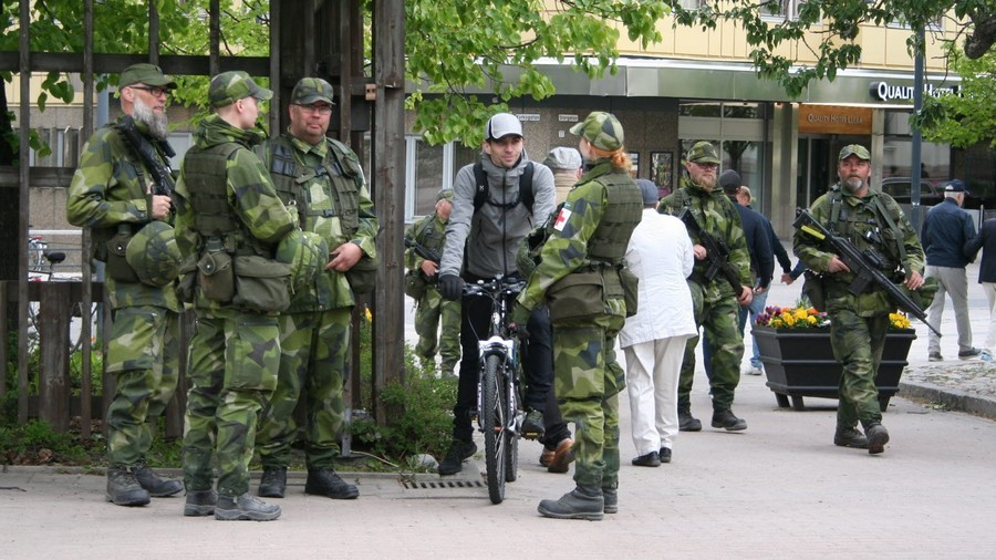 War cry: Sweden mobilizes all its reservists for 1st time in 40 years (PHOTOS)