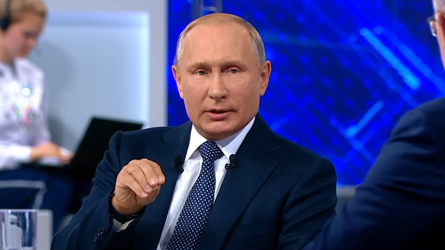'World Cup stadiums legacy main aim, hope national team doesn't disappoint' - Vladimir Putin