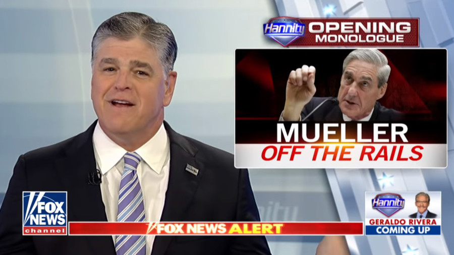 Mueller coming for evidence? No problem, just smash your phones, Hannity says