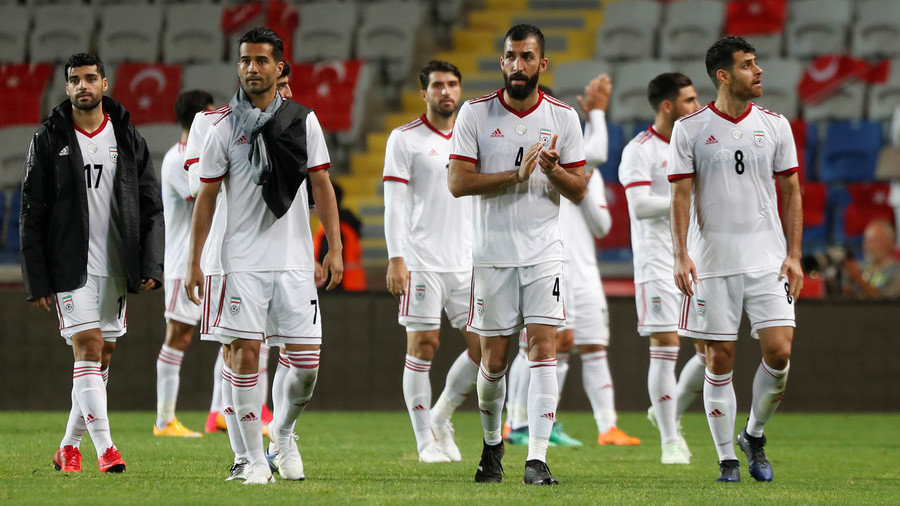 5a53d12b6 Iran hits back after Nike refuses to supply players with boots due to US  sanctions