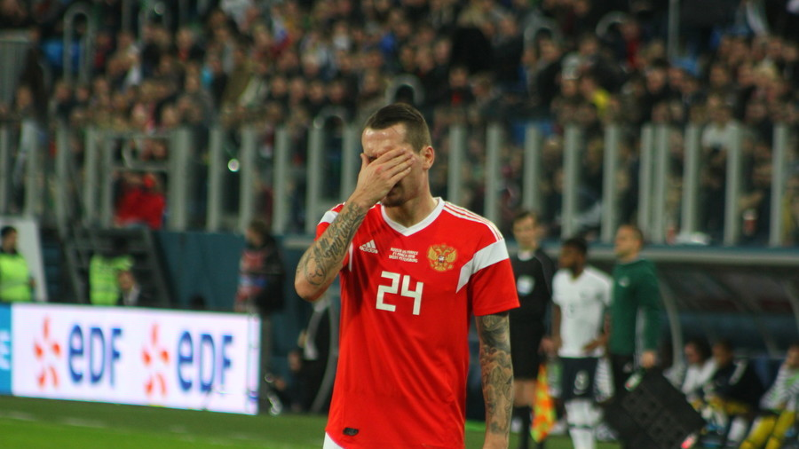 Russia become lowest-ranked World Cup team after slipping below Saudis in FIFA standings