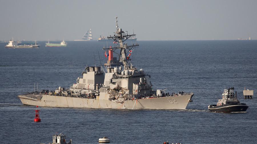 US sailors lack basic ship handling skills – Navy report