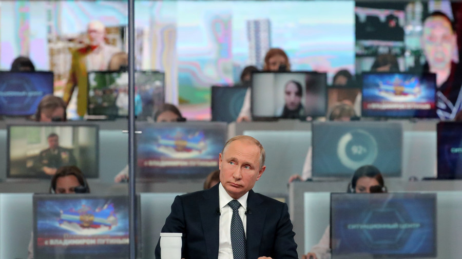 God, steel and World War III: 5 highlights from Vladimir Putin's marathon Q & A