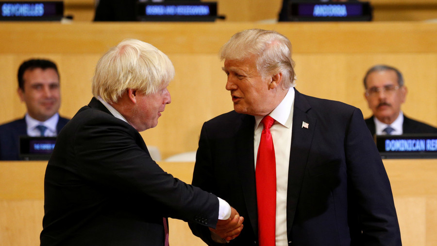 Boris Johnson Praises Trump's 'Method in His Madness'