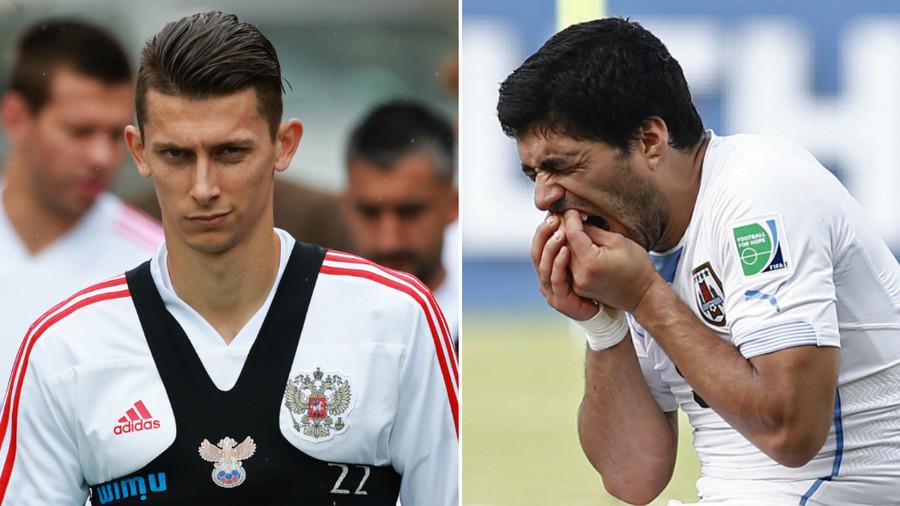 'I'm not scared of Suarez, I can bite him myself!' - Russia defender Kutepov
