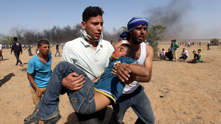 4 σκοτώθηκαν, εκατοντάδες τραυματίστηκαν στις διαμαρτυρίες της Naksa στη Γάζα