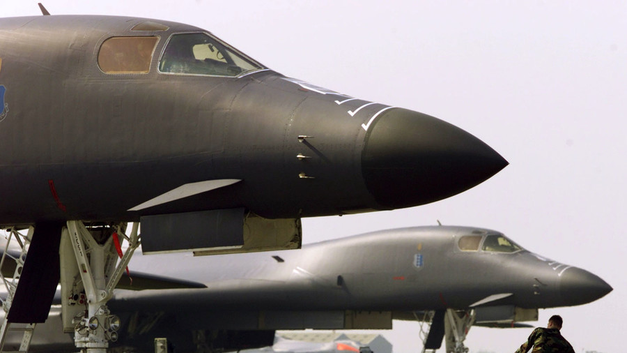 US Air Force grounds all B-1B bombers after ejection seat trouble