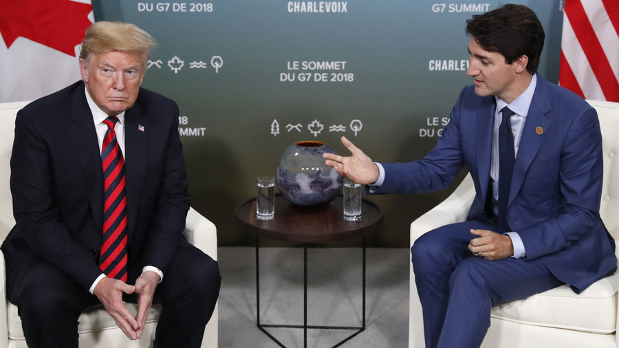 Trump won't endorse G7 joint statement, attacks 'weak & dishonest' Trudeau