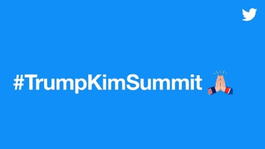 High five or hands praying? Twitter unveils #TrumpKimSummit emoji