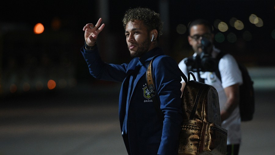 Brazilians touch down in Russia as Samba Boys begin bid for 6th World Cup title