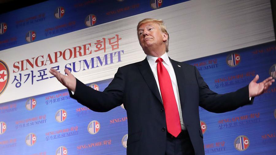 North Korea sanctions to 'remain' – Trump