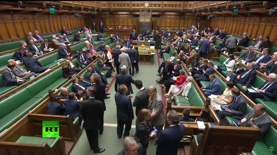MPs vote down House of Lords' Brexit amendment in crucial EU withdrawal bill vote