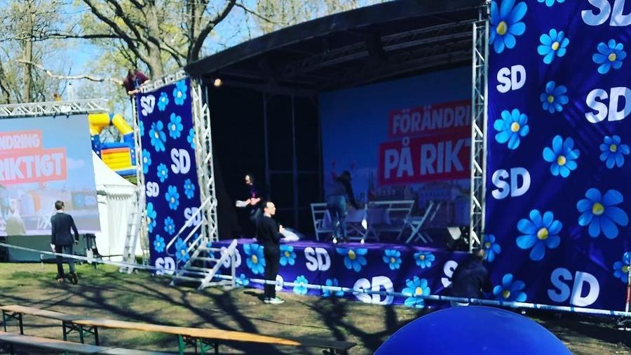 Anti-immigrant Sweden Democrats party surges in polls amid EU's Eurosceptic wave