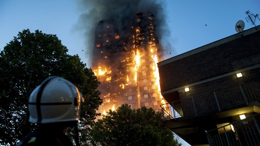 Fire erupts in Lewisham tower block one year after Grenfell