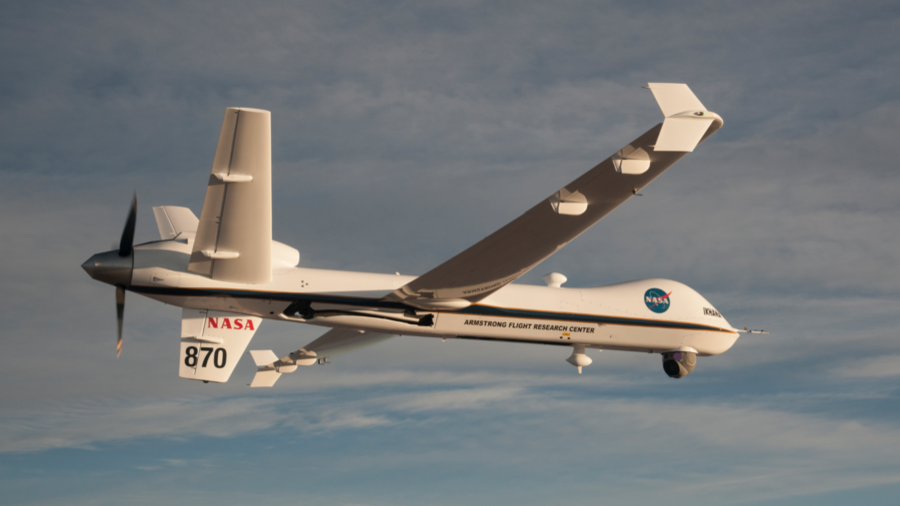 New normal? NASA's Predator drone flies solo in commercial airspace for 1st time