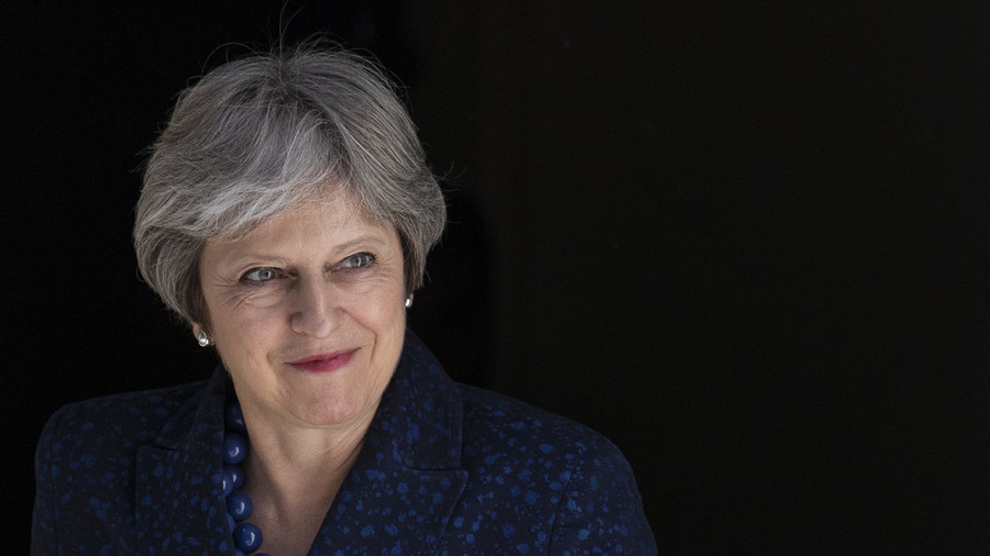 Hello darkness my old friend: May suffers through laughs in Commons over BoJo's leaked tapes (VIDEO)