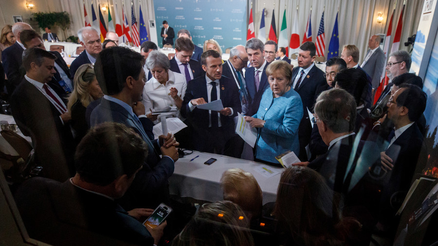 A Quarter of G7 summit in Canada was devoted to Russian Federation