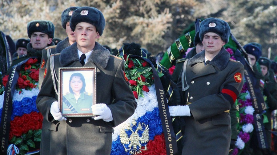 Russian region opens monument to two nurses killed in Syria terrorist attack on hospital