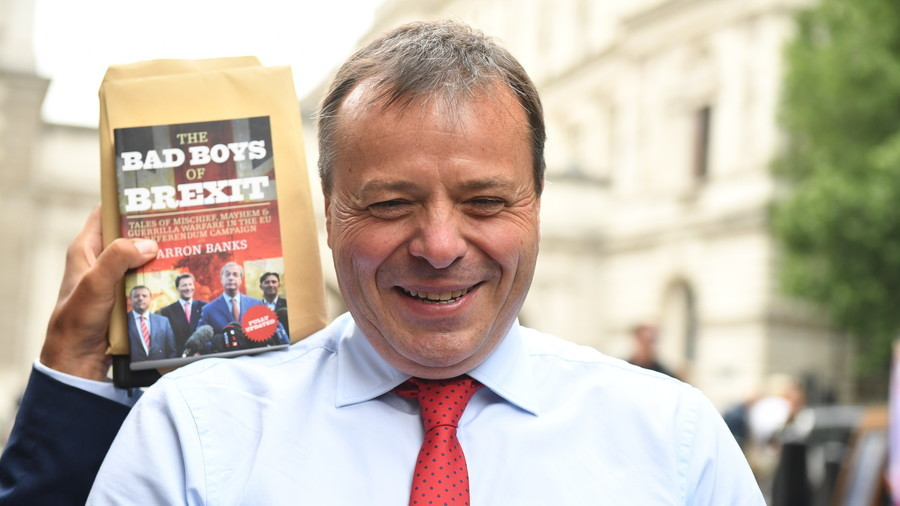Arron Banks blasted over claim he'll withdraw from politics as Brexit is 'very tedious'