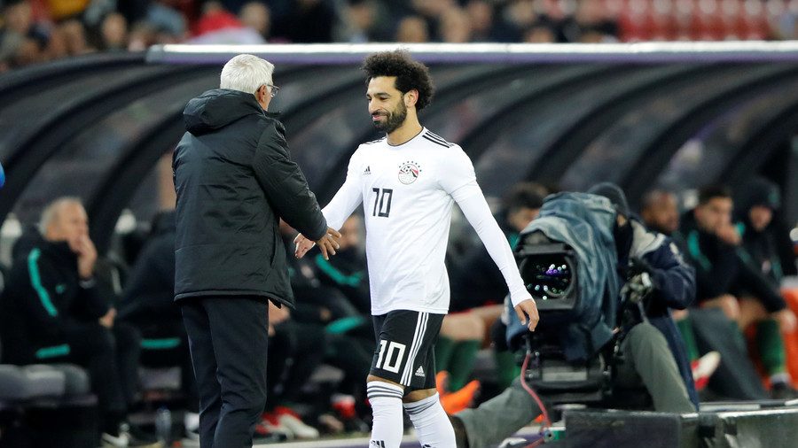 Egypt coach 'very optimistic' Salah will compete in World Cup opener